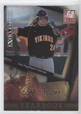 2011 Donruss Elite Extra Edition - Yearbook #15 - Dan Vogelbach