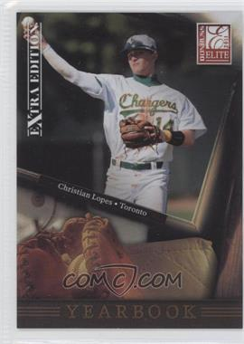 2011 Donruss Elite Extra Edition - Yearbook #2 - Christian Lopes