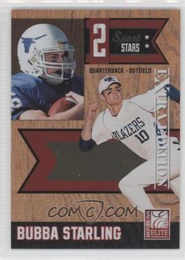 2011 Donruss Elite Extra Edition 2 Sport Stars #6 - Bubba Starling /499