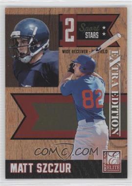 2011 Donruss Elite Extra Edition 2 Sport Stars #7 - Matt Szczur /499