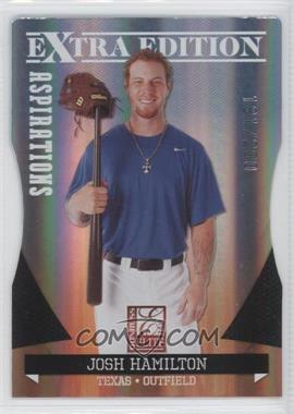 2011 Donruss Elite Extra Edition Aspirations Die-Cut #1 - Josh Hamilton /200