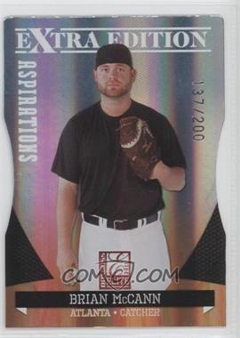 2011 Donruss Elite Extra Edition Aspirations Die-Cut #10 - Brian McCann /200