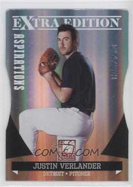 2011 Donruss Elite Extra Edition Aspirations Die-Cut #14 - Justin Verlander /200
