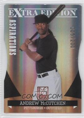 2011 Donruss Elite Extra Edition Aspirations Die-Cut #16 - Andrew McCutchen /200