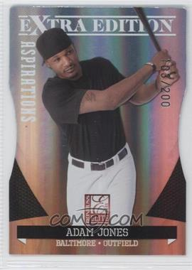 2011 Donruss Elite Extra Edition Aspirations Die-Cut #18 - Adam Jones /200