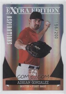 2011 Donruss Elite Extra Edition Aspirations Die-Cut #2 - Adrian Gonzalez /200
