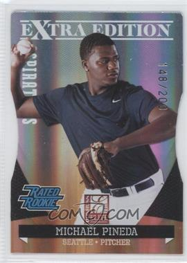 2011 Donruss Elite Extra Edition Aspirations Die-Cut #21 - Michael Pineda /200