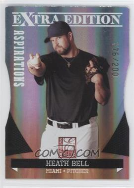 2011 Donruss Elite Extra Edition Aspirations Die-Cut #22 - Heath Bell /200