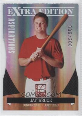 2011 Donruss Elite Extra Edition Aspirations Die-Cut #25 - Jay Bruce /200