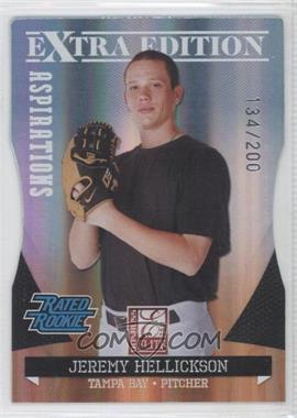 2011 Donruss Elite Extra Edition Aspirations Die-Cut #6 - Jeremy Hellickson /200