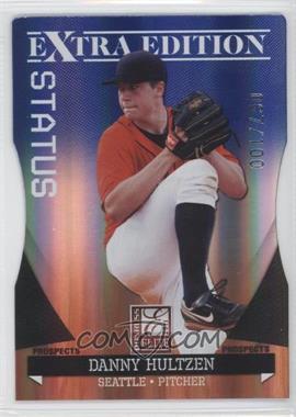 2011 Donruss Elite Extra Edition Autographed Prospects Blue Die-Cut Status Non-Autographed #P-16 - Danny Hultzen /100