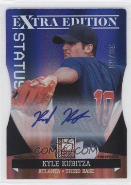 2011 Donruss Elite Extra Edition Autographed Prospects Blue Die-Cut Status #P-20 - Kyle Kubitza /50