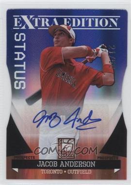 2011 Donruss Elite Extra Edition Autographed Prospects Blue Die-Cut Status #P-28 - Jacob Anderson /50
