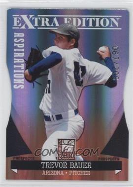 2011 Donruss Elite Extra Edition Autographed Prospects Die-Cut Aspirations Non-Autographed #P-1 - Trevor Bauer /200