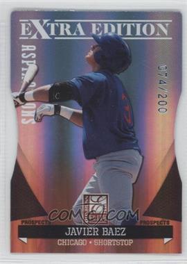 2011 Donruss Elite Extra Edition Autographed Prospects Die-Cut Aspirations Non-Autographed #P-15 - Javier Baez /200