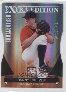 2011 Donruss Elite Extra Edition Autographed Prospects Die-Cut Aspirations Non-Autographed #P-16 - Danny Hultzen /200