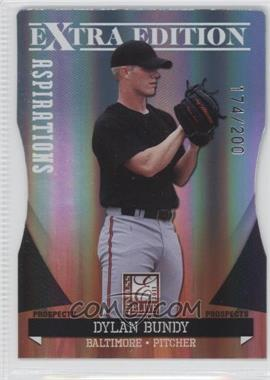 2011 Donruss Elite Extra Edition Autographed Prospects Die-Cut Aspirations Non-Autographed #P-4 - Dylan Bundy /200