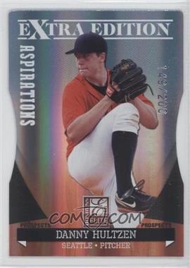 2011 Donruss Elite Extra Edition Autographed Prospects Die-Cut Aspirations #P-16 - Danny Hultzen /100