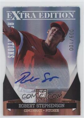 2011 Donruss Elite Extra Edition Autographed Prospects Die-Cut Aspirations #P-41 - Robert Stephenson /100