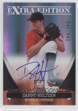 2011 Donruss Elite Extra Edition Autographed Prospects #P-16 - Danny Hultzen /642