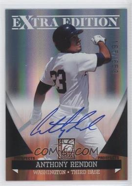 2011 Donruss Elite Extra Edition Autographed Prospects #P-2 - Anthony Rendon /653