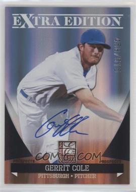 2011 Donruss Elite Extra Edition Autographed Prospects #P-3 - Gerrit Cole /515