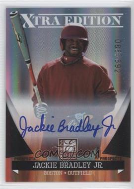 2011 Donruss Elite Extra Edition Autographed Prospects #P-30 - Jackie Bradley Jr. /692