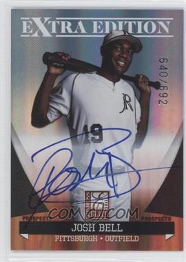 2011 Donruss Elite Extra Edition Autographed Prospects #P-35 - Josh Bell /692