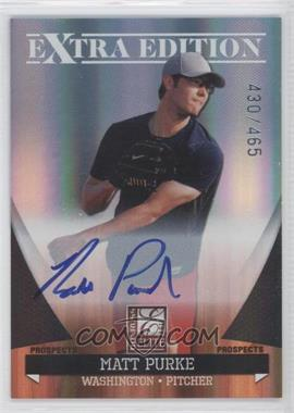 2011 Donruss Elite Extra Edition Autographed Prospects #P-43 - Matt Purke /465