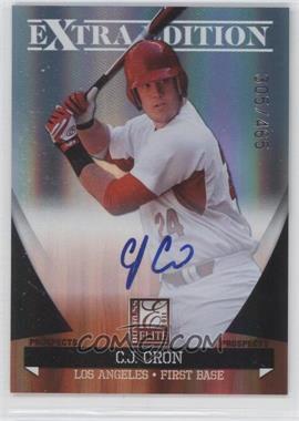 2011 Donruss Elite Extra Edition Autographed Prospects #P-5 - C.J. Cron /465