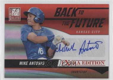 2011 Donruss Elite Extra Edition Back to the Future Signatures #1 - Mike Antonio /720