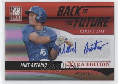 2011 Donruss Elite Extra Edition Back to the Future Signatures #1 - Mike Antonio /720