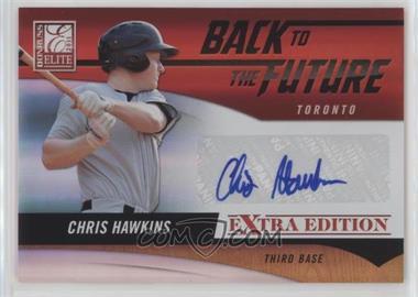 2011 Donruss Elite Extra Edition Back to the Future Signatures #11 - Chris Hawkins /720