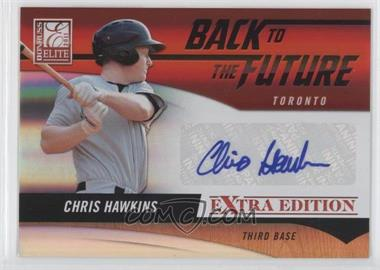 2011 Donruss Elite Extra Edition Back to the Future Signatures #11 - Chris Hawkins /720