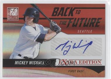 2011 Donruss Elite Extra Edition Back to the Future Signatures #13 - Mickey Wiswall /320