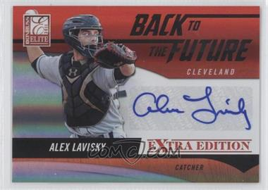 2011 Donruss Elite Extra Edition Back to the Future Signatures #15 - Alex Lavisky /320