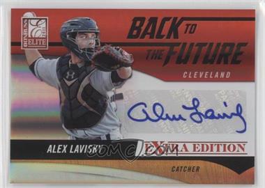 2011 Donruss Elite Extra Edition Back to the Future Signatures #15 - Alex Lavisky /320