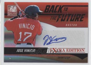 2011 Donruss Elite Extra Edition Back to the Future Signatures #16 - Jose Vinicio /720