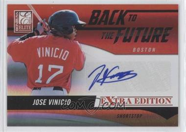 2011 Donruss Elite Extra Edition Back to the Future Signatures #16 - Jose Vinicio /720