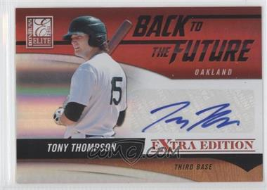 2011 Donruss Elite Extra Edition Back to the Future Signatures #18 - Tony Thompson /420