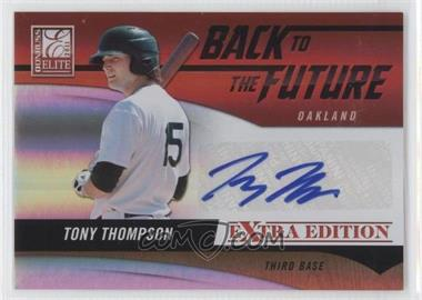 2011 Donruss Elite Extra Edition Back to the Future Signatures #18 - Tony Thompson /420