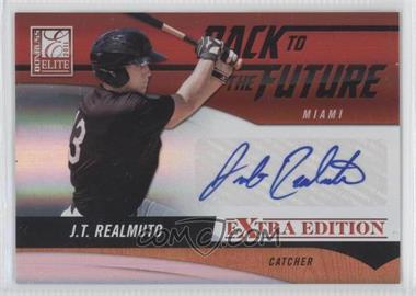 2011 Donruss Elite Extra Edition Back to the Future Signatures #2 - J.T. Realmuto /720