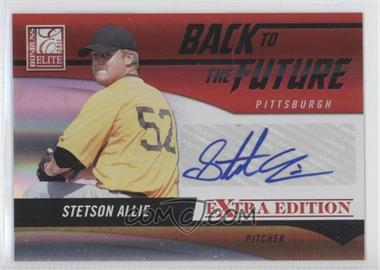 2011 Donruss Elite Extra Edition Back to the Future Signatures #20 - Stetson Allie /220