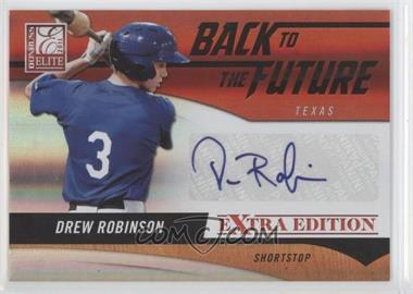 2011 Donruss Elite Extra Edition Back to the Future Signatures #21 - Drew Robinson /302