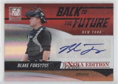 2011 Donruss Elite Extra Edition Back to the Future Signatures #22 - Blake Forsythe /184