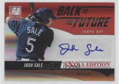 2011 Donruss Elite Extra Edition Back to the Future Signatures #24 - Josh Sale /94