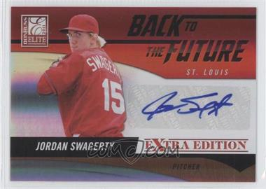 2011 Donruss Elite Extra Edition Back to the Future Signatures #3 - Jordan Swagerty /262