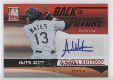 2011 Donruss Elite Extra Edition Back to the Future Signatures #5 - Austin Wates /595