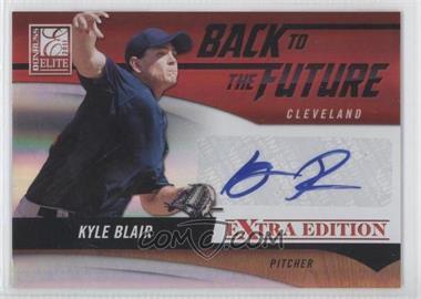 2011 Donruss Elite Extra Edition Back to the Future Signatures #6 - Kyle Blair /99