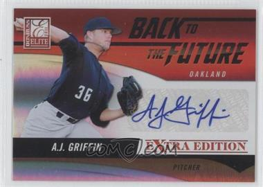 2011 Donruss Elite Extra Edition Back to the Future Signatures #7 - A.J. Griffin /720